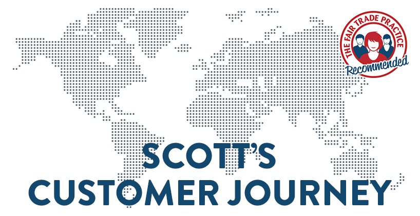 More than 96% of our new customers are recommended to us by someone they know to check their finances for mis-sold Payment Protection Insurance (PPI). In this series we ask some of those happy customers to review The Fair Trade Practice in their own words and get an insight into why so many trust us to investigate on their behalf. This account is from Scott in Lancashire